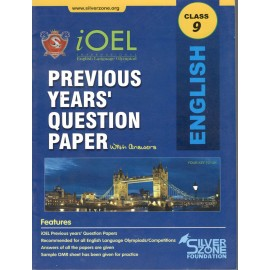 Silver Zone Olympiad Previous Years Question Paper with Answers English for Class 9