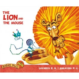 Karadi Tales The Lion and the Mouse (with Audio CD) by Karthik Kumar
