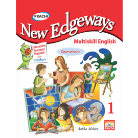 Prachi New Edgeways Multi Skill English Coursebook for Class 1