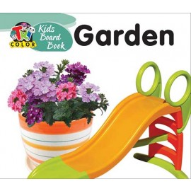 Tricolour Kids Board Book Garden