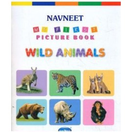 Navneet My First Picture Book Wild Animals