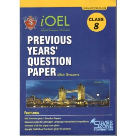 Silver Zone Olympiad Previous Years Question Paper with Answers English for Class 8