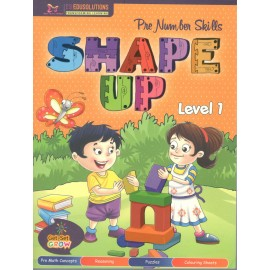 Pre Number Skills Shape Up Textbook for Level 1