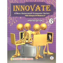 Sapphire Innovate (A New Generation Computer Series) for Class 6