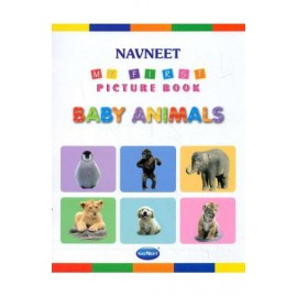 Navneet My First Picture Book Baby Animals