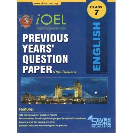 Silver Zone Olympiad Previous Years Question Paper with Answers English for Class 7