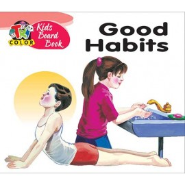 Tricolour Kids Board Book Good Habits