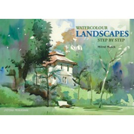 Watercolour Landscapes Step by Step by Jyotsna Prakashan - Milind Mulick