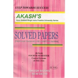 Akash's Solved Papers Control System (ETEE-212) for B.Tech 4th Semester (2017)