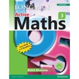 Pearson Active Maths Textbook for Class 3
