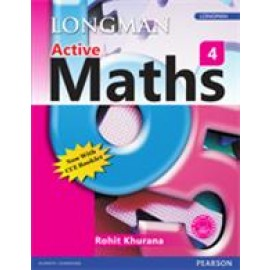 Pearson Active Maths Textbook for Class 4