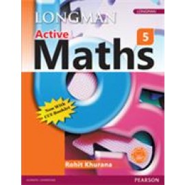 Pearson Active Maths Textbook for Class 5