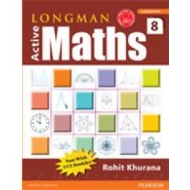 Pearson Active Maths Textbook for Class 8