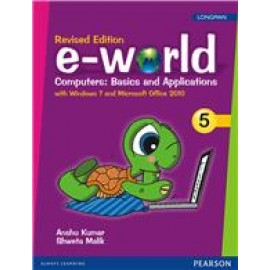 Pearson E-World Computers (Basics and Applications) Textbook for Class 5