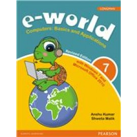 Pearson E-World Computers (Basics and Applications) Textbook of Computer Science for Class 7