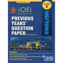 Silver Zone Olympiad Previous Years Question Paper with Answers English for Class 5