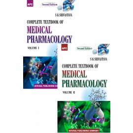 APC A Complete Textbook of Medical Pharmacology Volume I and II by Dr. SK Srivastava