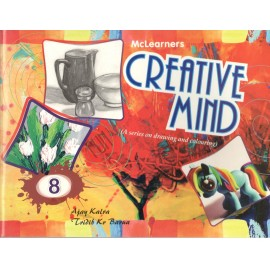 McLearners Creative Mind (A Series of Drawing and Colouring) Book 8