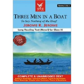 Pigeon (Novel) Three Men in a Boat Terms 1 & 2 Textbook for Class 9 (English Medium)