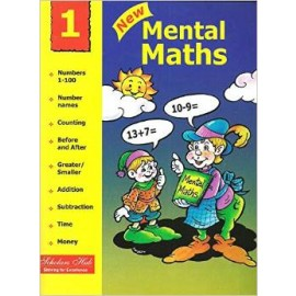 Scholars Hub New Mental Maths for Class 1 by Mridula Somayajulu