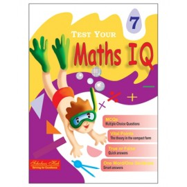 Scholars Hub Test Your Maths IQ for Challenging Minds for Class 7