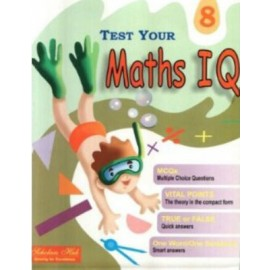 Scholars Hub Test Your Maths IQ for Challenging Minds for Class 8