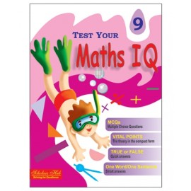 Scholars Hub Test Your Maths IQ for Challenging Minds for Class 9