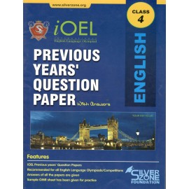Silver Zone Olympiad Previous Years Question Paper with Answers English for Class 4