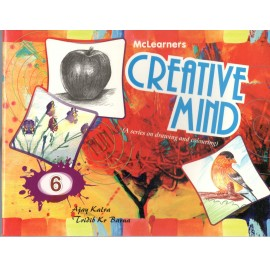 McLearners Creative Mind (A Series of Drawing and Colouring) Book 6
