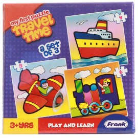 Frank First Puzzles (Play Time)