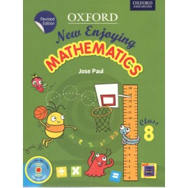 Oxford New Enjoying Mathematics Textbook for Class 8