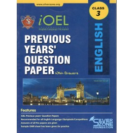 Silver Zone Olympiad Previous Years Question Paper with Answers English for Class 3