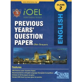 Silver Zone Olympiad Previous Years Question Paper with Answers English for Class 2