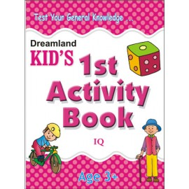 Kid's 1st Activity Book IQ (Dreamland)