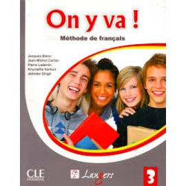 Langers On y va! Methode de Francais (Textbook + Workbook of French) Level 3 (CLE)