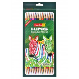 Camlin Kokuyo Colour Pencils Bi-Color 24 Shades