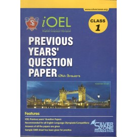 Silver Zone Olympiad Previous Years Question Paper with Answers English for Class 1