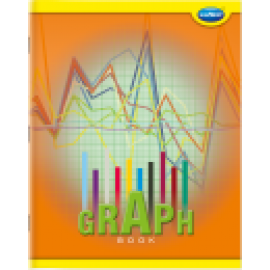 Navneet Youva Graph Book Soft Bound 1 mm Big Size 1 Side Ruled / 1 Side Graph - 64 Pages