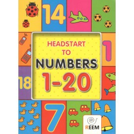 Reem Headstart to Numbers Book 1 to 20