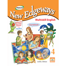 Prachi New Edgeways Multi Skill English Coursebook for Class 4