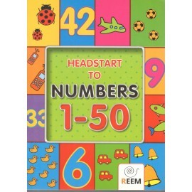 Reem Headstart to Numbers Book 1 to 50