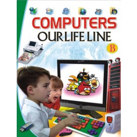 Computers Our Lifeline B  (Manoj Publications)