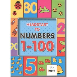 Reem Headstart to Numbers Book 1 to 100