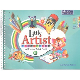 Mascot Little Artist - A Book of Art & Craft Book B