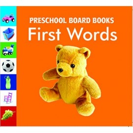 First Words Board Book by Pegasus Books