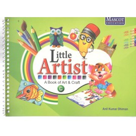 Mascot Little Artist - A Book of Art & Craft Book C