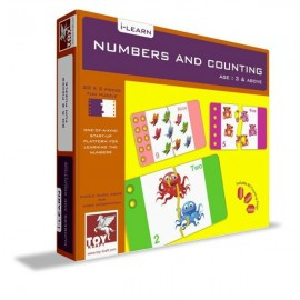 Numbers and Counting for Toddlers by Toy Kraft