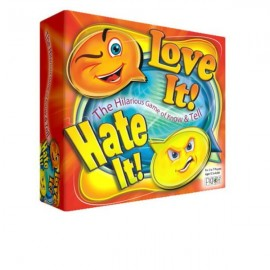 Love it Hate it Party Game Set by Toy Kraft