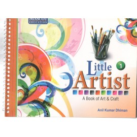 Mascot Little Artist - A Book of Art & Craft Book 1