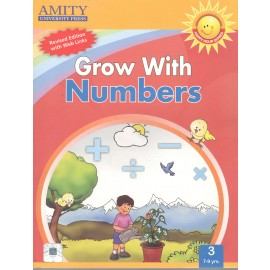 Amity Grow with Numbers Course Book 3 by Madhu Singh Sirohi